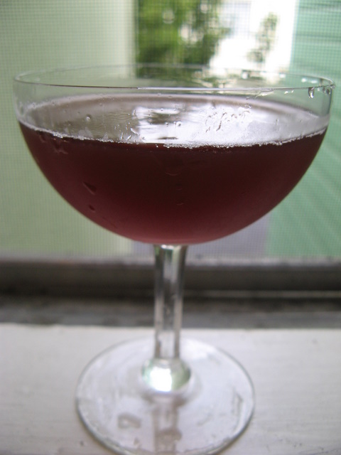 Port Wine Cocktail No. 1