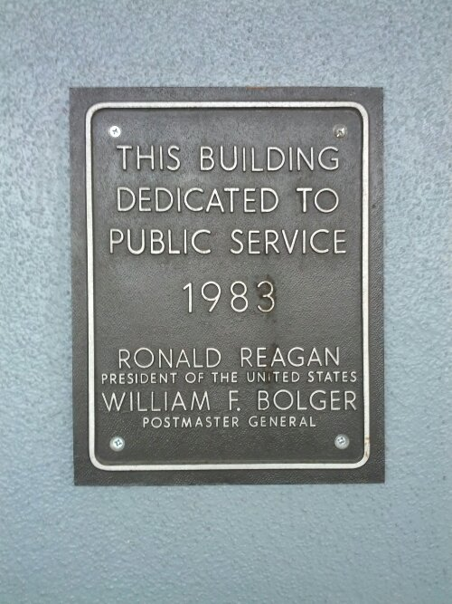 This Building Dedicated to Public Service