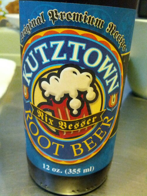 Kutztown Root Beer.