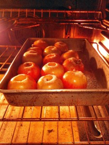 Apples Baking.