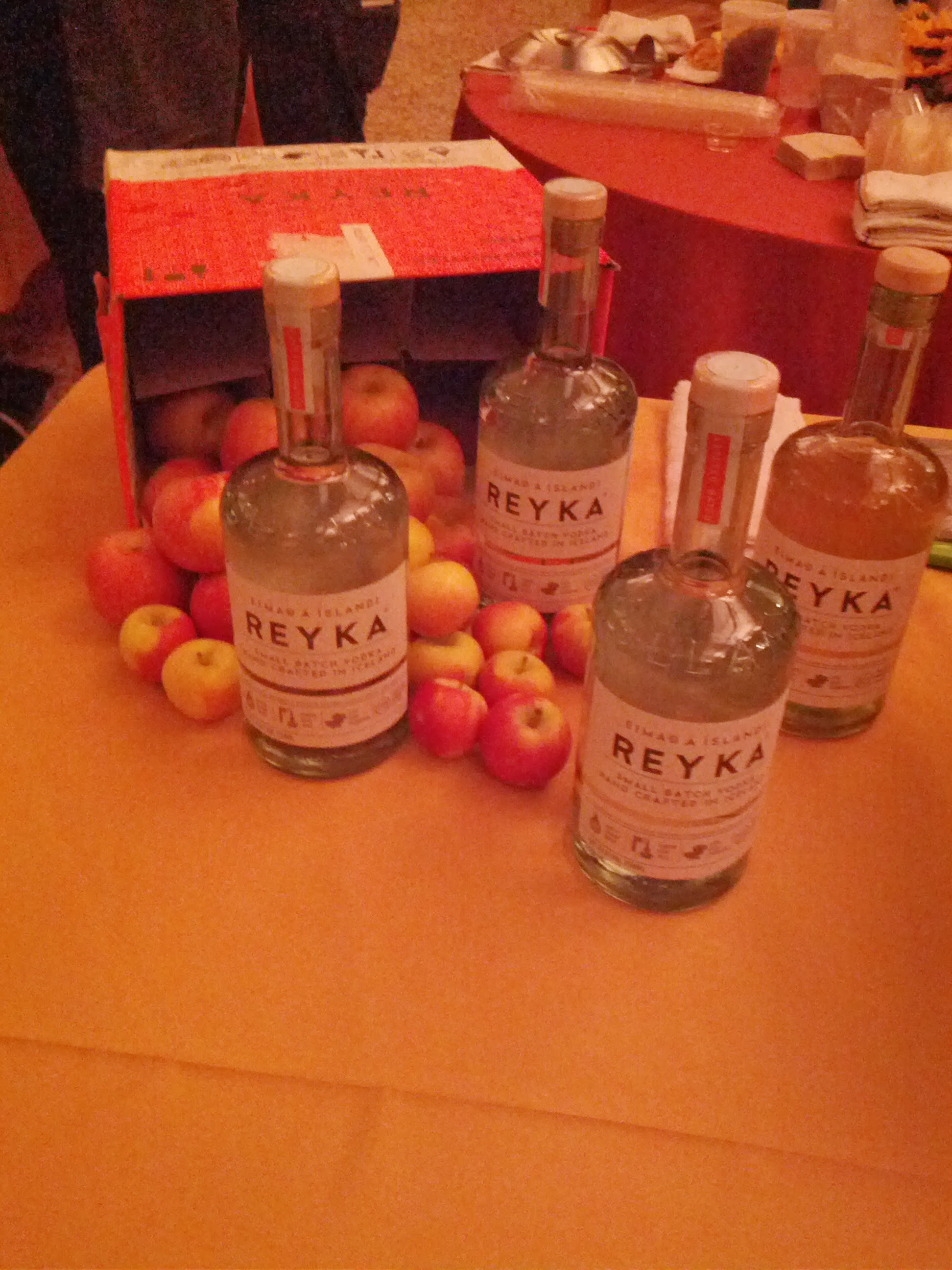 Reyka Vodka Tablescape.