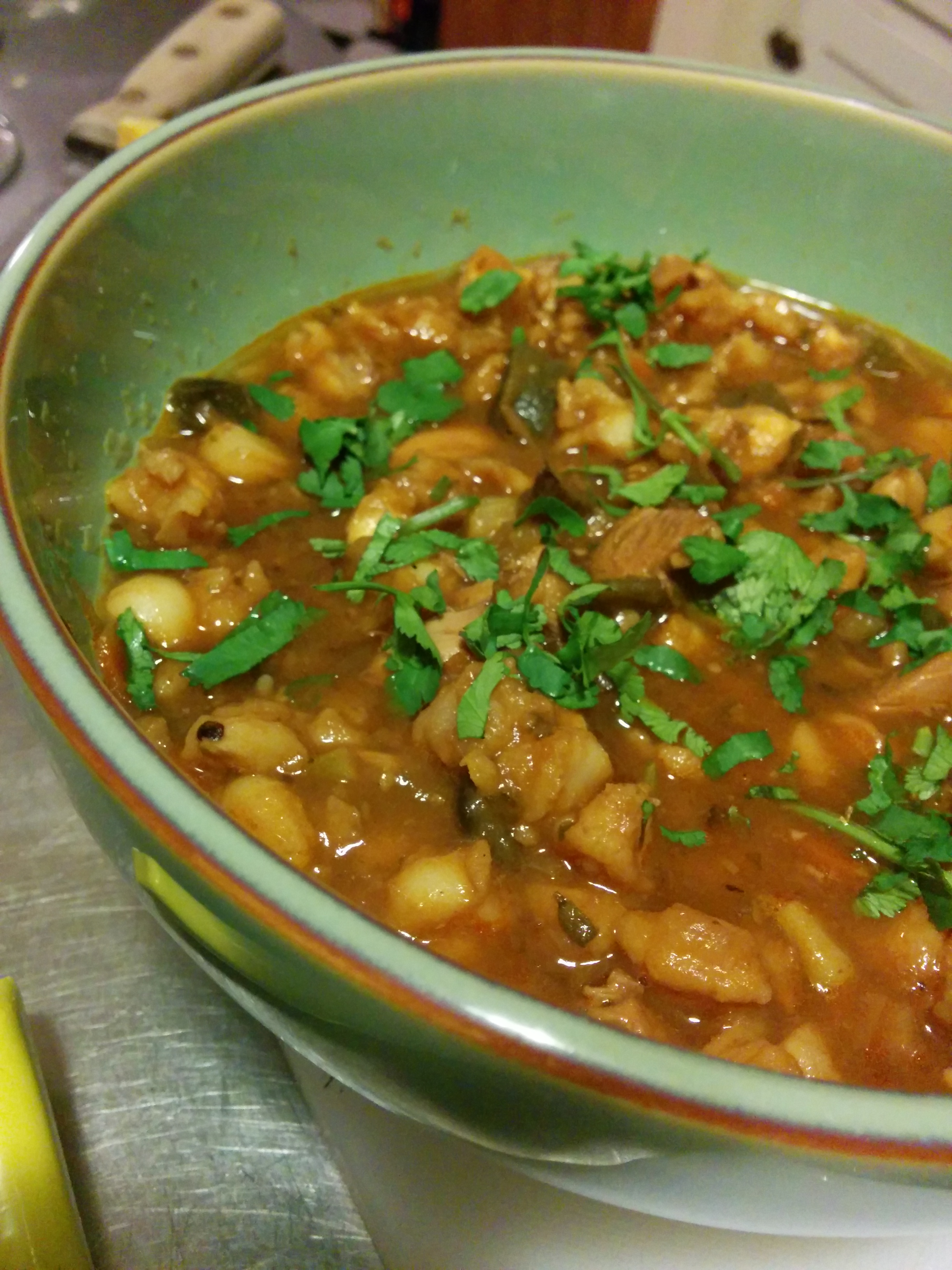 Posole, Finished